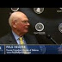 Paul Hellyer shares in this video is nothing short of sheer first hand testimony that ET's and UFOs exist, the government has known about it for many years and they are even familiar with multiple races.