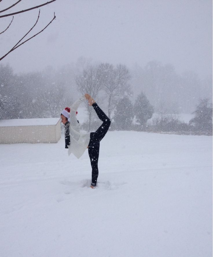 21 best Yoga in the Snow images on Pinterest | Yoga poses ...