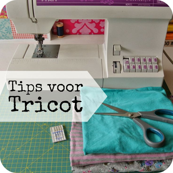 Sew Natural Blog: Tips voor Tricot
