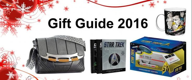 2016 Holiday Gift Guide   StarTrek.com  with our annual gift guide -- is ready to help you beam up that perfect present for your Trek-fan loved ones and friends. This being the franchises 50 anniversary theres an even greater galaxy of options to choose from than usual. Check em out and early happy holidays.  Star Trek Encyclopedia: A Reference Guide to the Future  Authors Michael Okuda and Denise Okuda have painstakingly updated the Encyclopedia for the first time since its initial release…