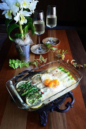 《チーズプレゼントのお知らせ》+褒められおつまみ★トースターでほっとくだけ★レモンとアスパラとパルミジャーノ・レッジャーノ ワインと合うよ。 レシピブログ