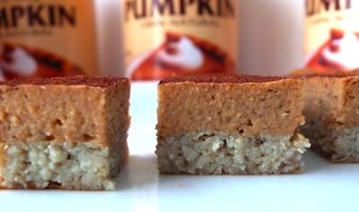 protein pumpkin pie: Healthier Snacks, Protein Pies, Powder Recipe, Layered Pumpkin, Pumpkin Protein, Protein Pumpkin, Protein Recipe, Protein Powder, Pumpkin Pies