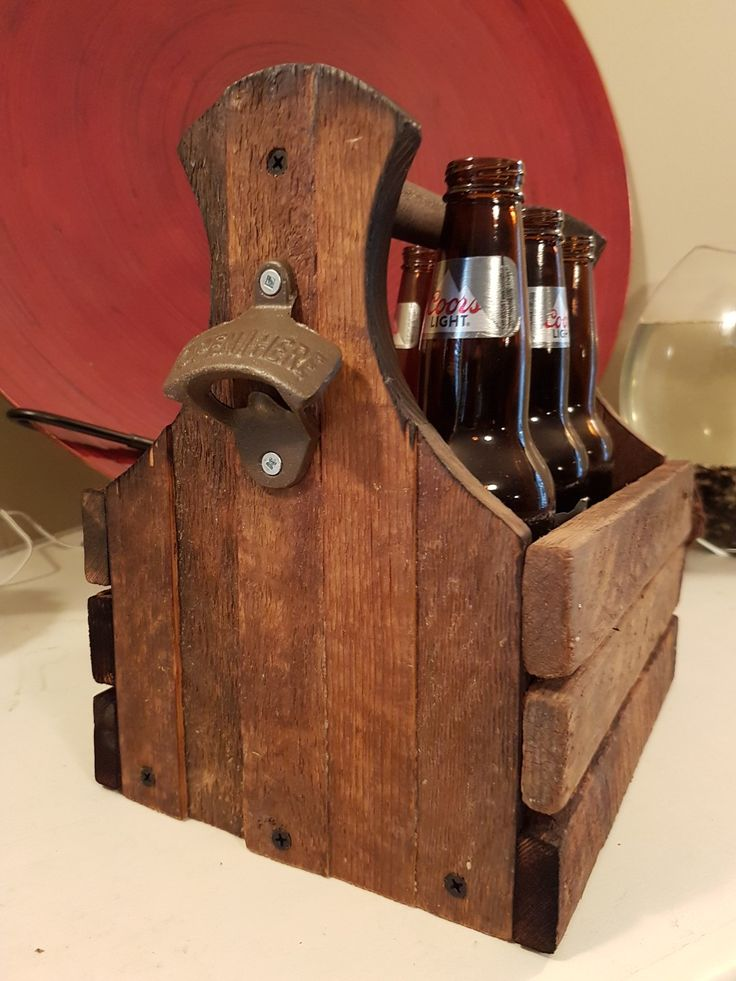 Tobacco stick beer caddy