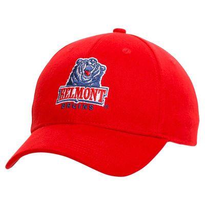 Belmont Bruins Elementary Adjustable Hat - Red