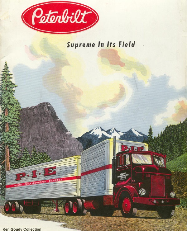 Between the ages of 3 and 15, I could not get enough of collecting pictures of old trucks. I built visual fleets, all images taken from magazines. When my parents showed up to visit friends, I would immediately find the available stacks of magazines and start pillaging them for truck pictures.