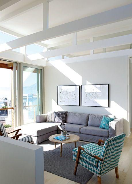 Beach house lounge, South Africa, Beattyvermeiren architects