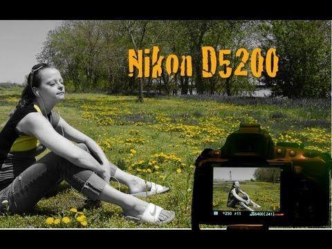 Nikon D5200 Effects