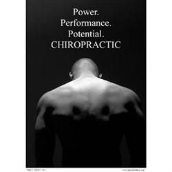 Power Of Chiropractic Poster 18X24