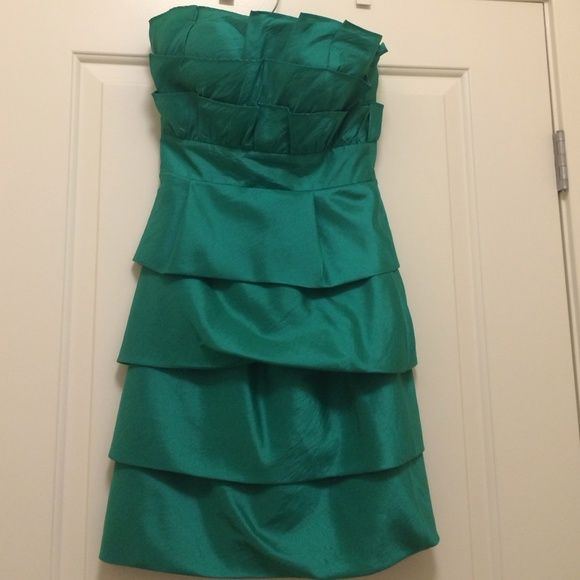 Green Cocktail Dress This Emerald green cocktail dress is form fitting and fun. Perfect for am evening wedding or cocktail party especially at Christmas time! Max & Cleo Dresses