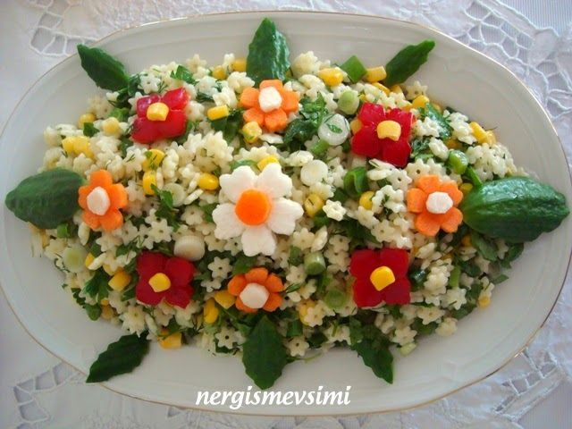 nergismevsimi: Mezeler-Salatalar