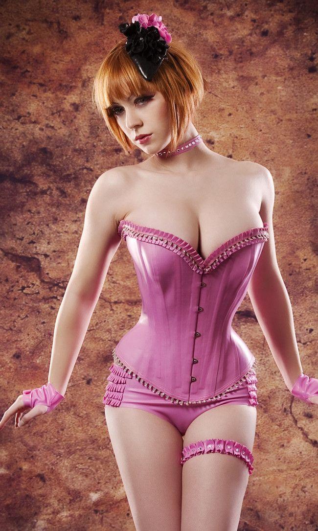 Sissy slut corset training-9499