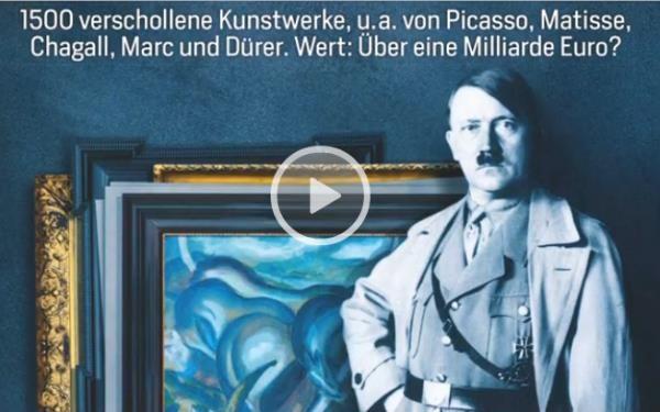 """В Германии сенсация: обнаружены 1,5 тыс произведений #искусства на миллиард! евро http://artmarketnew.blogspot.com/2013/11/15.html Среди обнаруженных правоохранителями полотен #картины Пабло Пикассо, Огюста Ренуара, Эдварда Мунка, Марка Шагала и других корифеев 19-20 века. Треть картин относятся к """"дегенеративному искусству"""", к которому по указанию фюрера Гитлера были причислены авторы с большевитскими и семитскими корнями."""