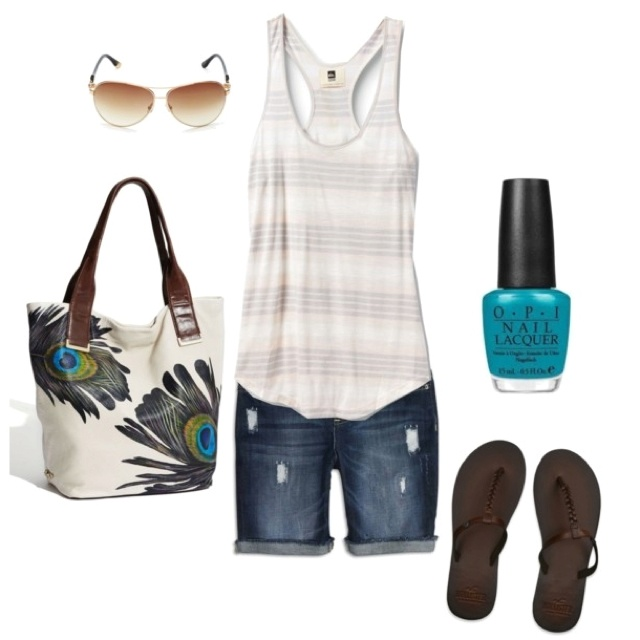 Love the bag!Cant Wait, Summer Day, Style, Cute Summer Outfit, Summer Outfits, Nails Polish, Summer Clothing, Bags, Dreams Closets