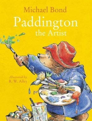 He collects all his paints and brushes from his room and goes out into the garden to work on his masterpieces. Soon Paddington has enough pictures to open his own exhibition outside No. 32 Windsor Gardens. Paddington becomes rather discouraged when no one stops to buy one. But there is one mysterious person who appreciates Paddington's art…