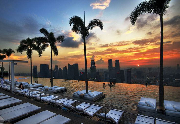 Piscina sul tetto del Marina Bay Sands – Singapore