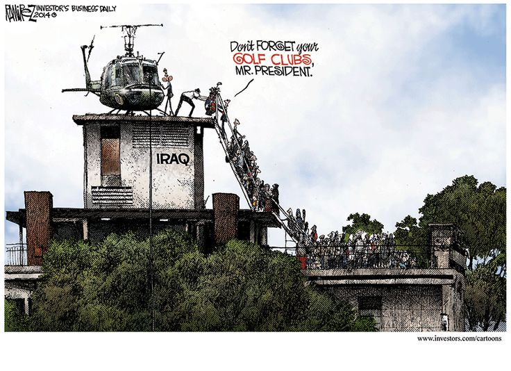 Michael Ramirez Cartoon 06/13/2014 - Two-time Pulitzer Prize winner Michael Ramirez is editorial cartoonist and Senior Editor for Investor's Business Daily. View current and past victims of his politically incorrect pen at http://investors.com/cartoons. 06/13/2014
