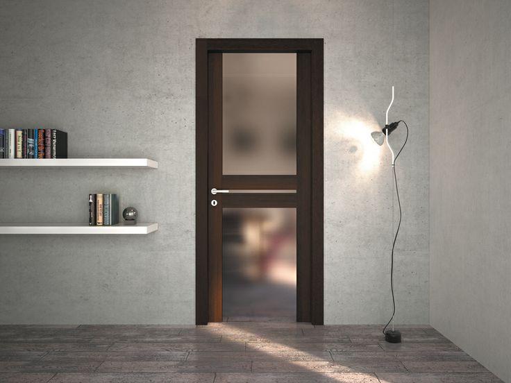 FBP porte | Collezione LOLA Art.1 vetro #fbp #porte #legno #door #wood #wooddoor