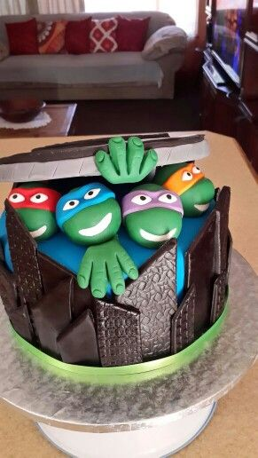 Ninja Turtles Birthday Cakes