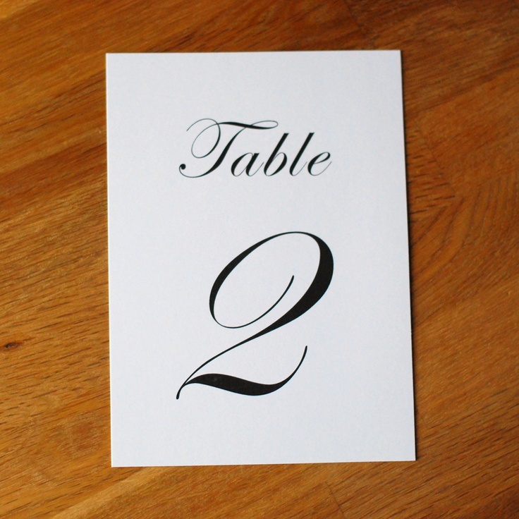 21 best images about flat table numbers on pinterest for Table design numbers