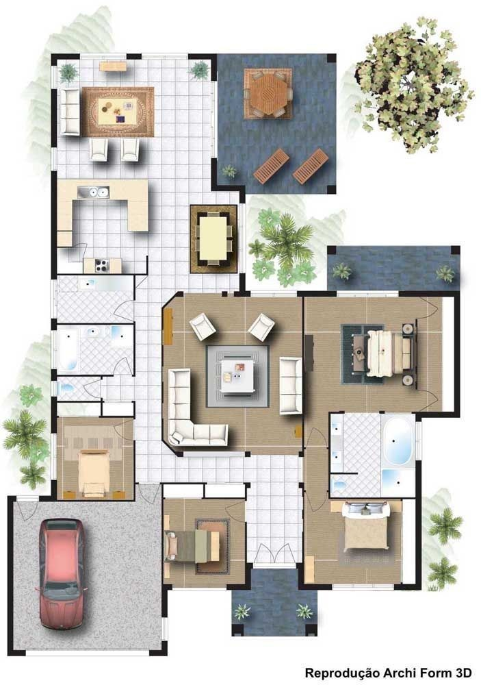 Top 40 3d Floor Plan Ideas In 2020 With Images Tiny House Design