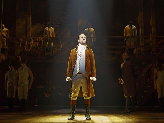 'Hamilton' cast gets its shot at the Grammys - live