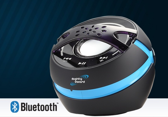 The Mighty Dwarf Blue II Bluetooth Speaker WINTER SALE $99.99