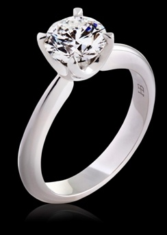 Hardy Brothers Engagement Ring style# 9ESTYRSO3