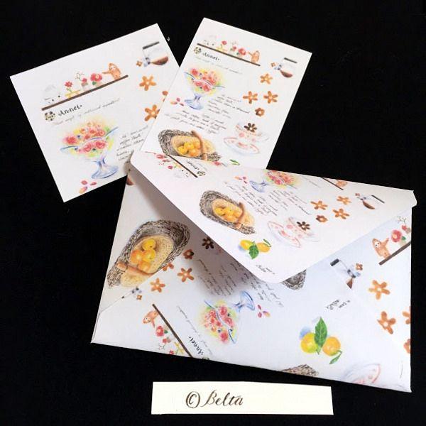 https://flic.kr/p/C4o2z2 | 2015_12_28_envelope_01 | I made some envelopes.  © Belta(Mayumi Wakabayashi)