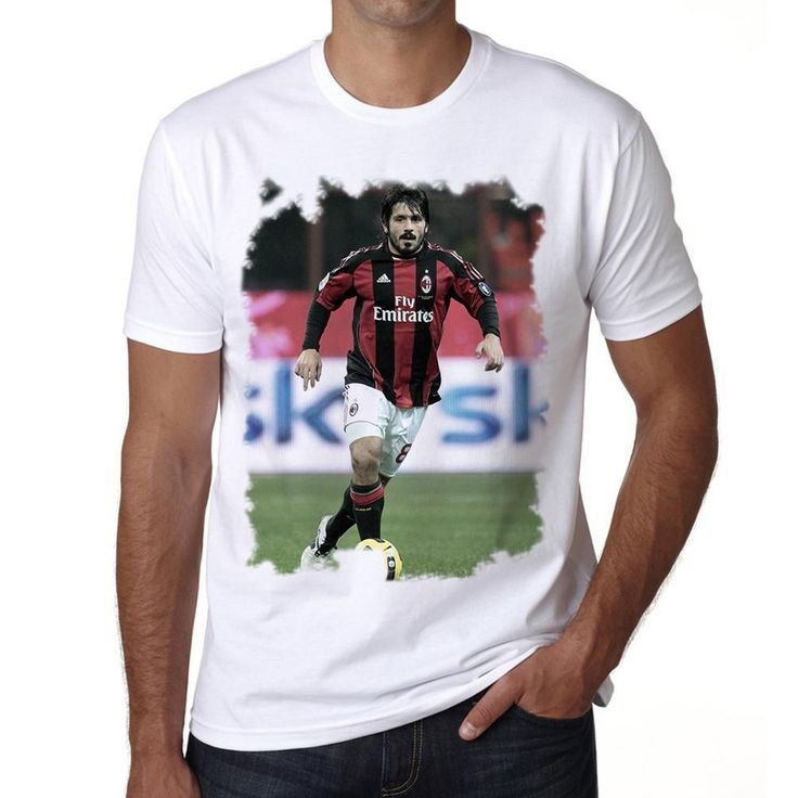Gennaro Gattuso T-shirt for mens, short sleeve, cotton tshirt, men t shirt
