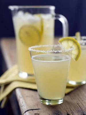 Sparkling Honey Lemonade  A great drink to cool off with. Perfect to serve to your guests on a hot day in San Antonio.