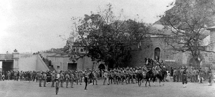 Grand Parade Saint Helena Island Info Boer Prisoners