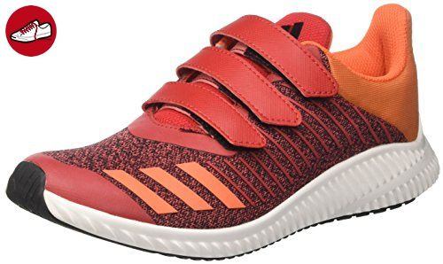 adidas Unisex-Kinder Fortarun Cf K Sneakers, Rot (Scarle/Eneora/Ftwwht), 36 EU - Adidas schuhe (*Partner-Link)