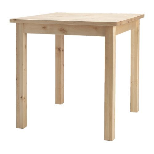 NORDEN Dining table IKEA Solid wood, a hardwearing natural material. Seats 2.: Norden Tables, Ideas, Bar Tables, Tables Ikea, Small Kitchens, Cabin Kitchens, Kitchens Tables, Ikea Norden, Dining Tables