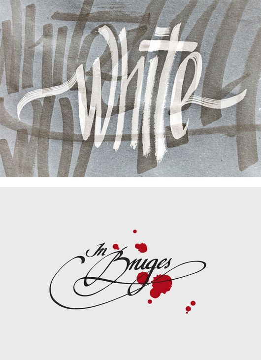 Beautiful Calligraphy by Renato Molnar