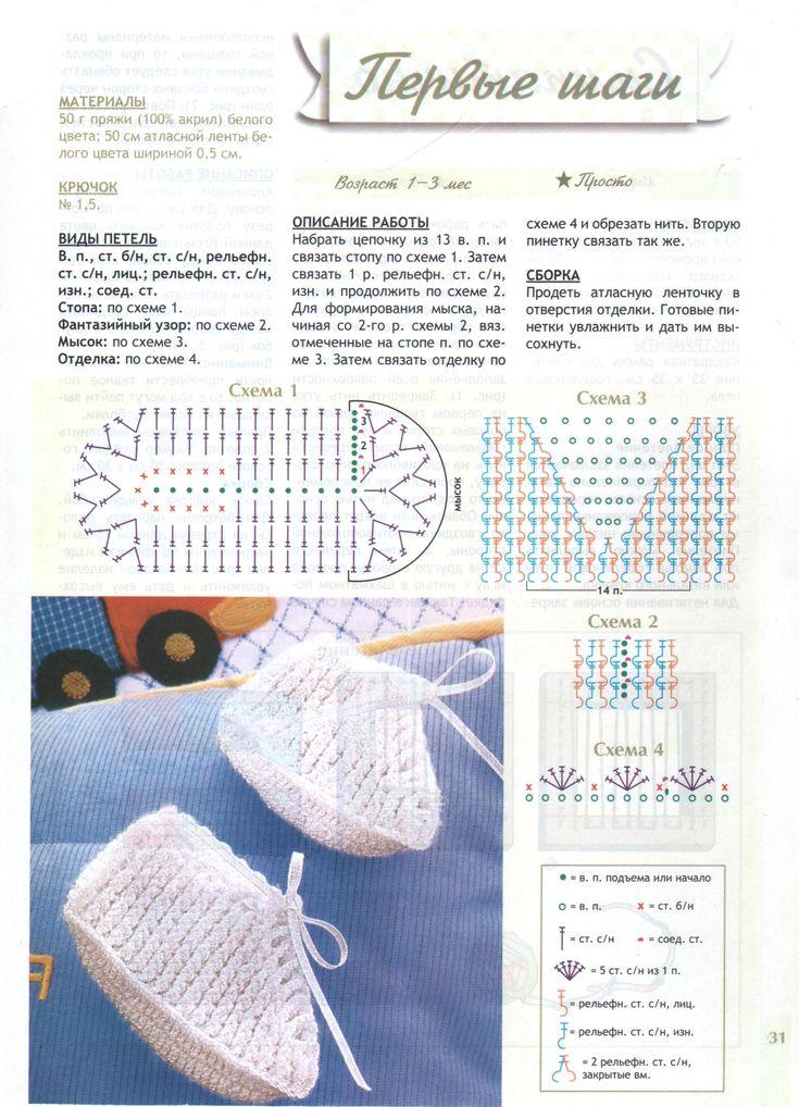 233 best Zapatos bebé niño images on Pinterest | Clothing, Crochet ...