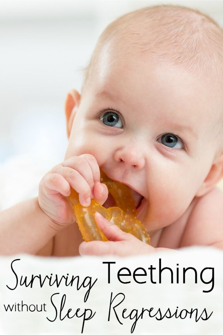 Surviving Teething Without Sleep Regressions. Got a teething baby or toddler? Here is how to help them find teething relief without starting bad sleeping habits. #ad #Smilestones