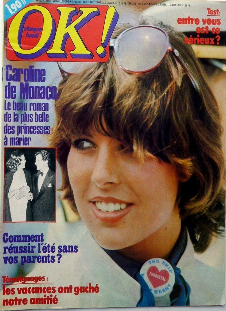 OK! 1977: CAROLINE DE MONACO_DONNA SUMMER_NICOLAS PEYRAC_MICHEL DELPECH | eBay