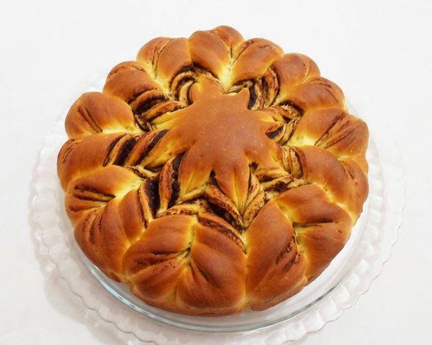 ΤΑ ΘΑΥΜΑΣΤΑ ΔΩΡΑ ΤΗΣ ΦΥΣΗΣ: Αφράτο ψωμάκι πλημμυρισμένο με nutella!Μερεντοψωμο...