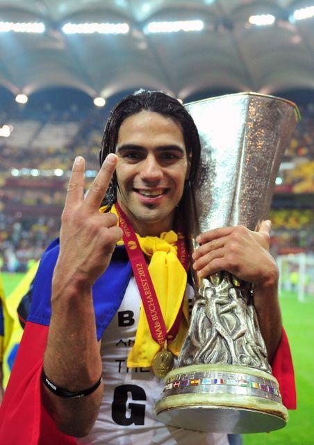 Radamel Falcao, Colombiano jugador del Atlético de Madrid y la selección Colombia.