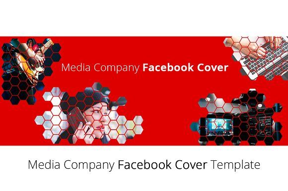 Clean Media Company Facebook Cover by NeptuneOnline on @creativemarket