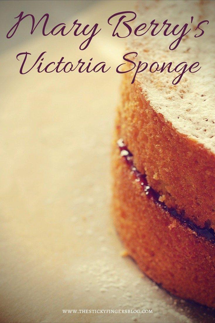 Mary Berry Victoria sponge recipe