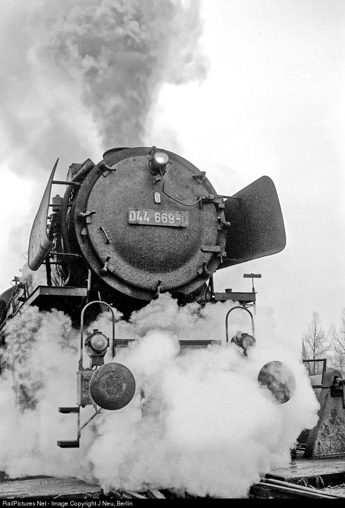 RailPictures.Net Photo: 044 669 Deutsche Bundesbahn Steam 2-10-0 at Rheine, Germany by J Neu, Berlin