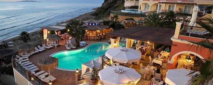 Delfino Blu Boutique hotel, Corfu, Greece