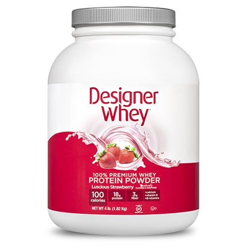 Designer Whey Protein Strawberry (1x4.4 Lb)