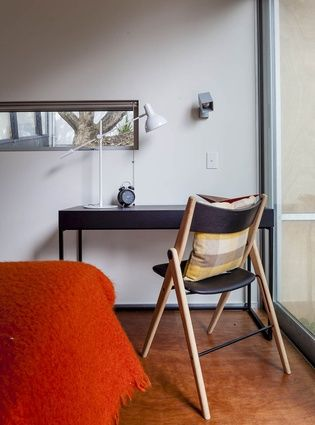 BoConcept desk and Oslo folding chair BoConcept interiors