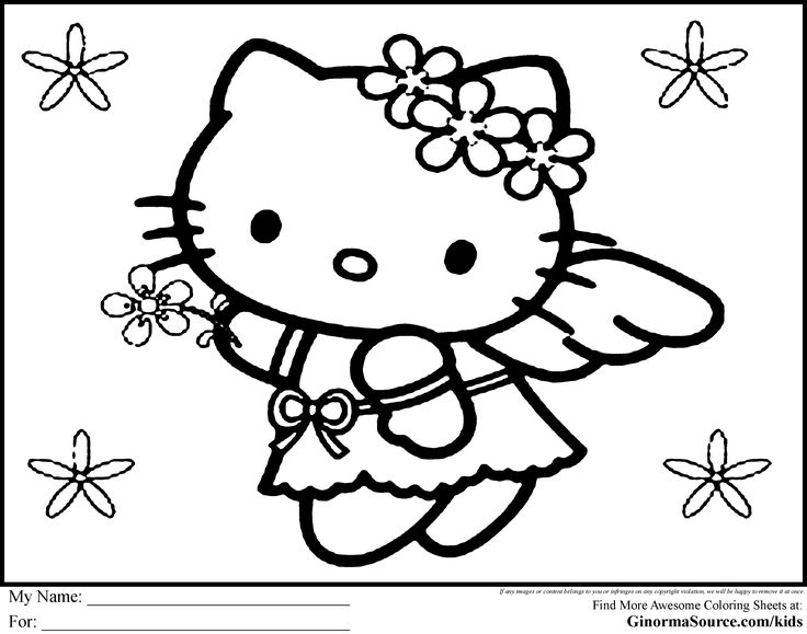 Free Hello Kitty Coloring Sheets Online Printable Pages For Kids Get The Latest Images