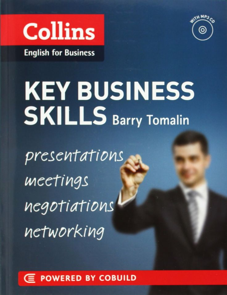 Key Business Skills B1-C1  Serie Collins Business Skills and Communication Barry Tomalin 9780007488797: