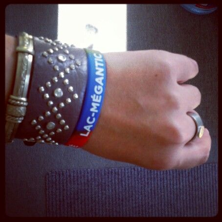 I got my bracelet for Lac-Mégantic, do you have yours ?!?