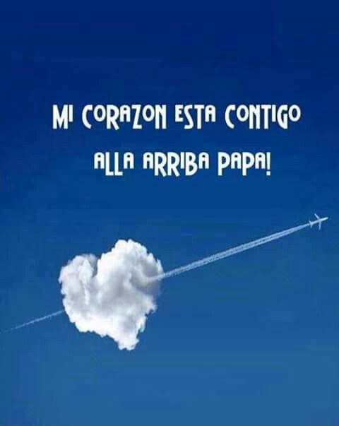Papa en el cielo