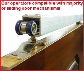 Pocket sliding door mechanism